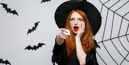 Cadılar bayramı gecesinde makyajınızı çıkarmak için...