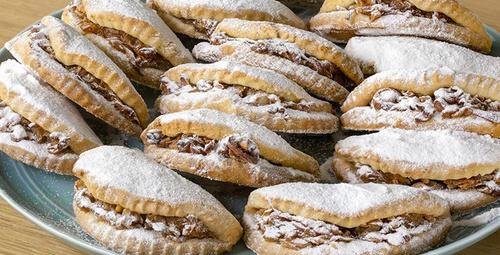 Kıyır kıyır lezzet: Elmalı kurabiye