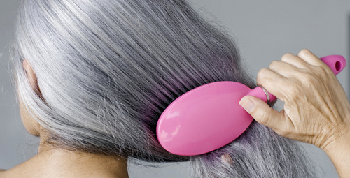 Beyazlamış saçlara doğal çözüm yolları!