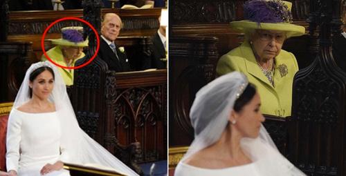 Meghan'ın gelinliğinde kraliçeyi öfkeden çıldırtan detay!