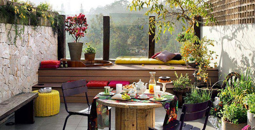 Kış bahçenize bahar havası kazandırın!