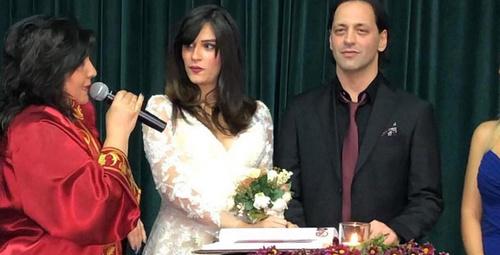 Duman grubunun solisti Kaan Tangöze hamile sevgilisiyle evlendi!