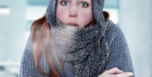 Soğuk hava yüz felcine neden oluyor!