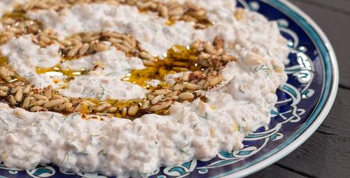 Leziz mi leziz: Çam fıstıklı buğday salatası tarifi