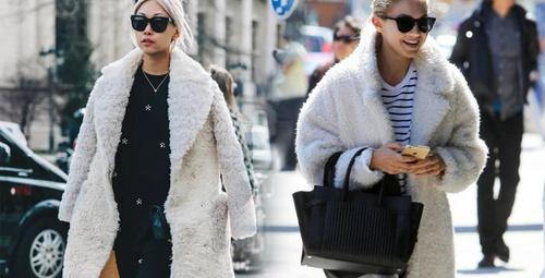 Her yer peluş kaban! İşte 2019'un trend modelleri!