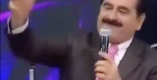 İbrahim Tatlıses'in yıllar önce canlı yayında rap yaptığı video!