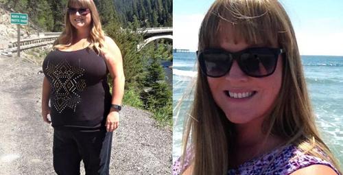 2 çocuk annesi kadının inanılmaz zayıflama hikayesi