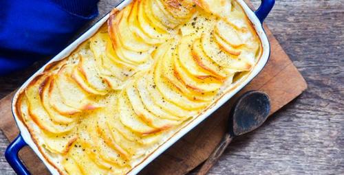 Değişiklik arayanlara: Fırında sütlü patates