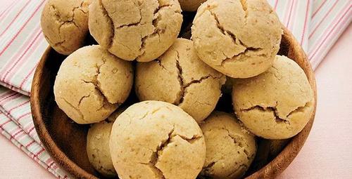 Sadece 4 malzemeli: Leblebili kurabiye
