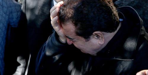 Annesini kaybeden İmparator cenaze töreninde gözyaşlarına boğuldu!