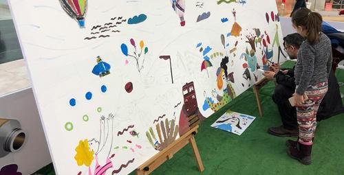Bir Tablo Bin Fırça Projesi Mersinlileri sanatla buluşturuyor!
