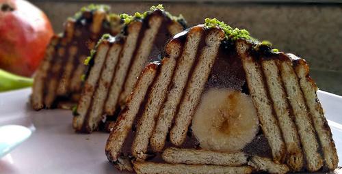 Hem pratik hem lezzetli: Muzlu mozaik pasta