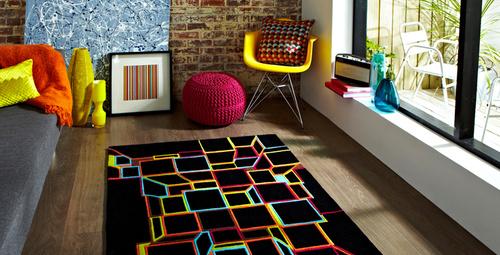 Ev dekorasyonunda yeni trend: Geometrik desenler!