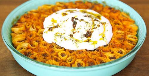 Türk mutfağının sevilen lezzeti yufkalı mantı!