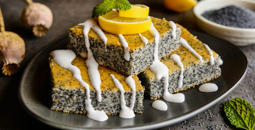 Kokusu burnunuzdan gitmeyecek: Limonlu haşhaşlı kek