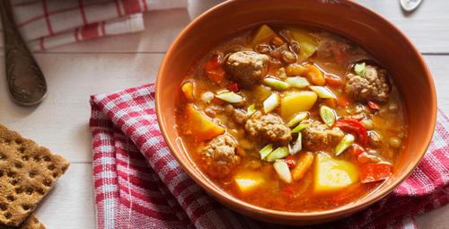 Doyuran lezzet köfteli çorba tarifi!