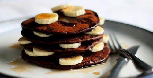 Tatlı krizlerinin aranan ismi: Kakaolu pancake!