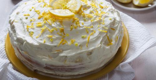 Tadıyla mest eden tarif: Limonlu pasta