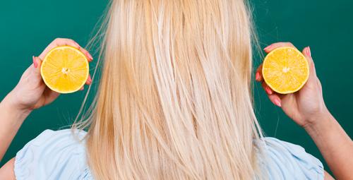 Limon maskesi ile saçlarınız ışıldayacak!