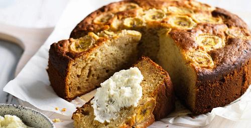 Çayın yanında muzlu keki denediniz mi?