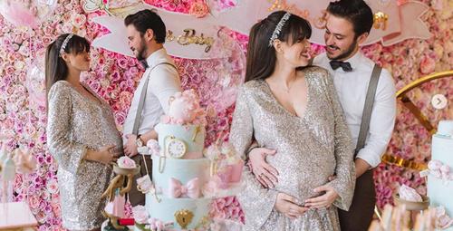 Pelin Akil ikiz bebekleri Alin ve Lina için Baby Shower düzenledi!