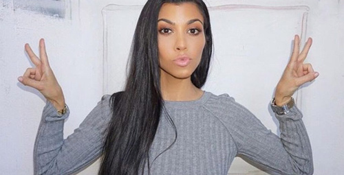 Kourtney Kardashian'dan çırılçıplak pozlar