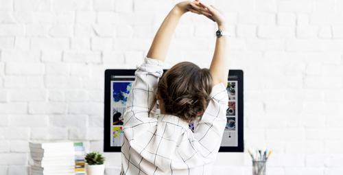 Ofis çalışanları için 7 pratik egzersiz!