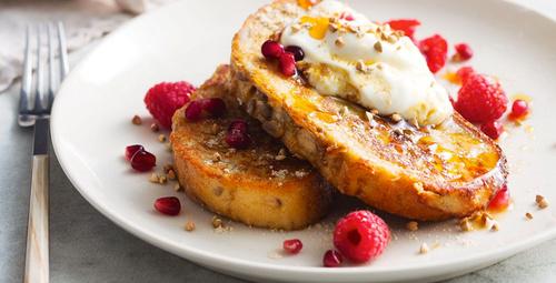 Bol malzemeleri enerji veren Fransız tostunu hiç denediniz mi?