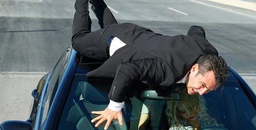 Ferhat Göçer yeni klip çekiminde kaza geçirdi!