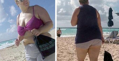 Aile boyu çikolatalar bile yetmiyordu şimdi bikinisinin içinde...