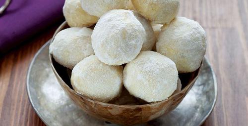 Ağızda dağılan kıvamıyla: Kartopu kurabiyesi