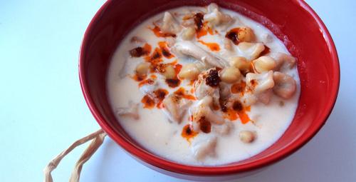Hem doyurucu hem de kolay tarif mantı çorbası!