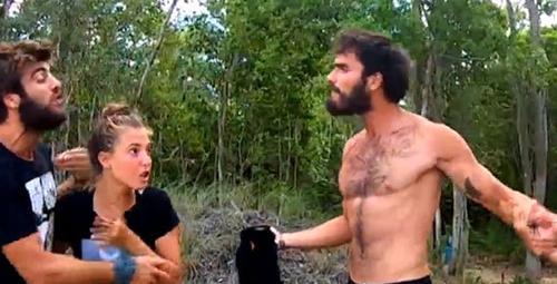 Survivor'da büyük kavga Atakan ve Yusuf boğaz boğaza geldi!