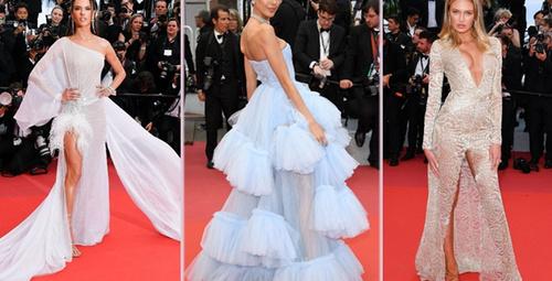 Cannes'da hangi ünlü ne giydi?