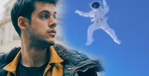 Ünlü YouTuber uzaydan atlayan ilk Türk oldu!