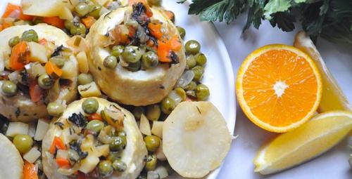 Portakallı kereviz dolmasını bir de böyle deneyin!