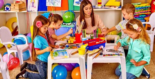 Çocuklara boyama nasıl öğretilir?