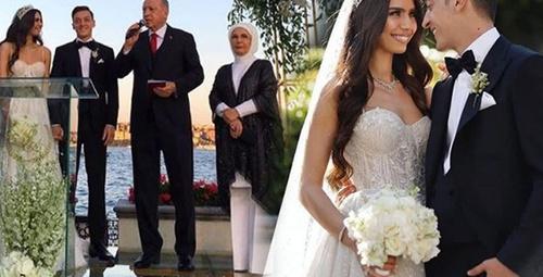 Türkiye'nin konuştuğu Mesut Özil'in düğününe ünlüler akın etti!