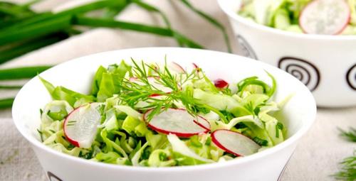 İçinizi ferahlatacak: Turplu yaz salatası