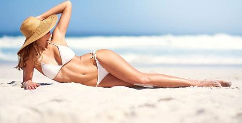 Bikini ile daha ince görünmenin 4 yöntemi!