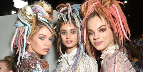 Dünya çapında trend saç modeli rasta modelleri!