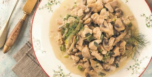 Yaz aylarında midenizi rahatlatacak: Mantarlı tavuk tarifi