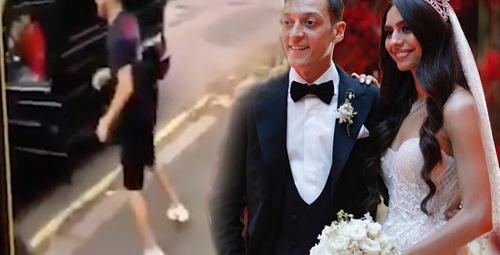 Ünlü futbolcu Mesut Özil'e bıçaklı saldırı anı kayıtları ortaya çıktı!