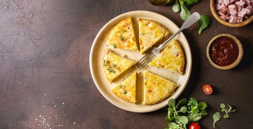 Sabah kahvaltılarınızı renklendirin: Patatesli omlet