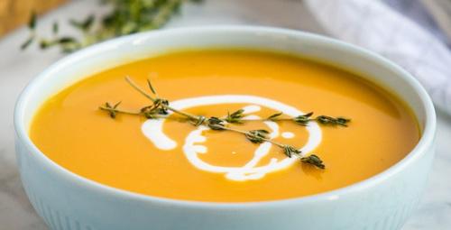 İçinizi ısıtacak: Zencefilli bal kabağı çorbası
