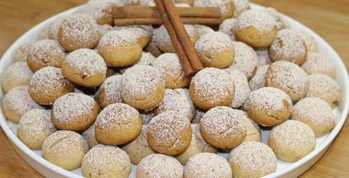 Ağızda dağılıyor: Nişastalı kurabiye tarifi