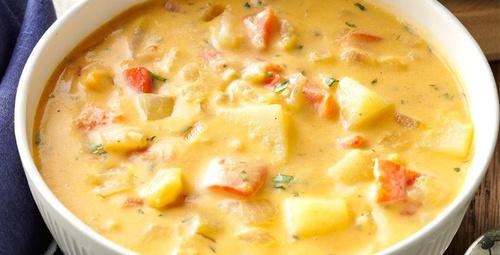 Tatlı patates çorbasını bir de bu şekilde deneyin!