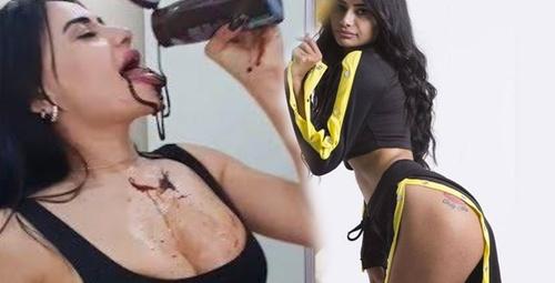 Gelin adayı Naz Mila'nın köpeği ile duş aldığı videosu olay oldu!