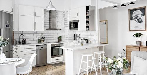 Küçük mutfaklar için büyük fikirler!