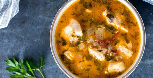 Şifa saçan balık çorbası hangi balıkla yapılır?